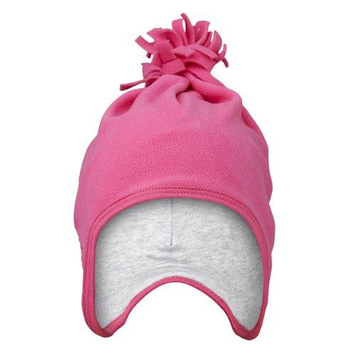 LEGO Wear Chapeau Bébé fille, Rose foncé - Pink (458 PINK), L