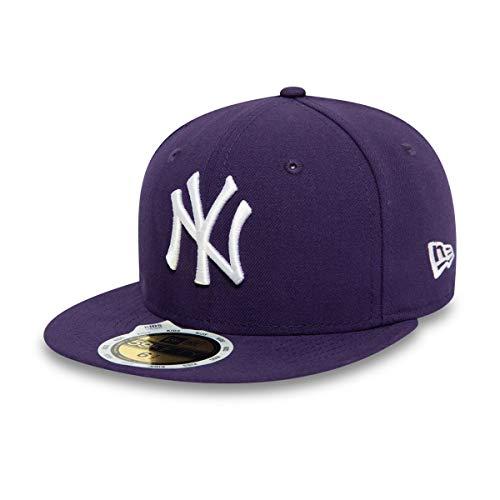 New Era New York Yankees - Kids Basecap - MLB League Basic - Purple/White - Kids 6 1/2