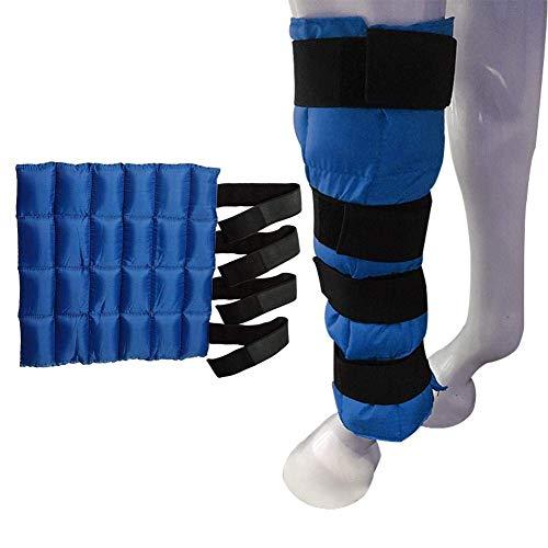 Piaoliangxue Eisverpackungsbeutel - Cooling Horse Ice Boot - Equestrian Leg Guard Cold Pack - Zum Abkühlen von Schmerzen mit 24 kleinen Ice Packs (B)