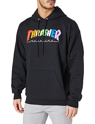 THRASHER Rainbow mag Sudadera Hombre