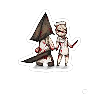 Sneaky Cover  3 PCs/Pack  Silent Plushie Hill 3x4 Inch Die-Cut Stickers Decals for Laptop Window Car Bumper Helmet Water Bottle