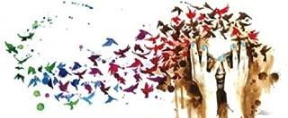 Birds, Birds, Birds Poster by Lora Zombie (20.00 x 14.00)