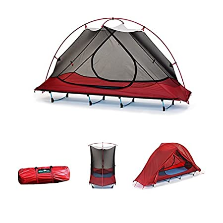 Desert Walker Ultra Lightweight Waterproof 1 Person Easy Carry Camping Tent Cot.