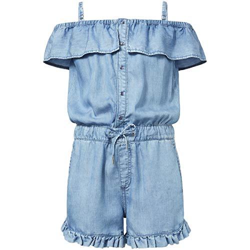 Pepe Jeans Mädchen Lolita Jumpsuit, Blau (000denim 000), 12-13 Jahre (Herstellergröße: 12)