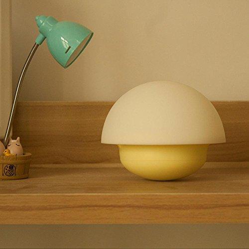 Lampes de Bureau Lampe de Table USB Silicone de Tumbler Batterie Lampes de Table LED Eclairage Ambiance LED Sensor Light