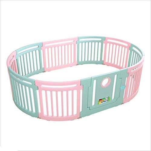 DBSCD Barrière de Jeu intérieure pour Enfants dans Les Parcs pour bébés Baby Safety Clôture Rampante Baby Home Paradise Toy Grille pour bébé Forte et Durable/Fabriquée à partir de Haute qualité Non-à