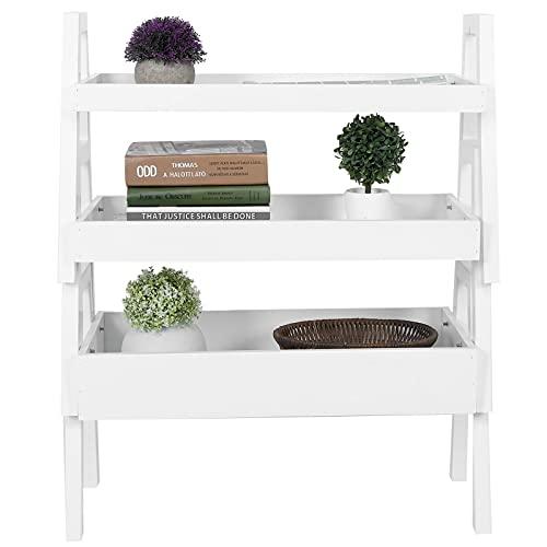 Cikonielf étagère à Plantes domestiques, étagères à Plantes en Pot à 3 Niveaux présentoir à Fleurs Support de Rangement Peu encombrant pour Le Lieu de Travail à Domicile