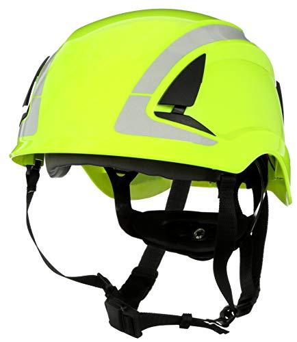 3M SecureFit Safety Helmet X5014XANSI HVGreen