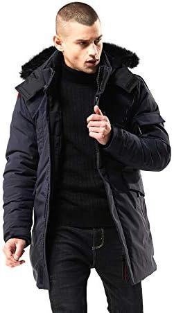 Mens long winter coats with hood