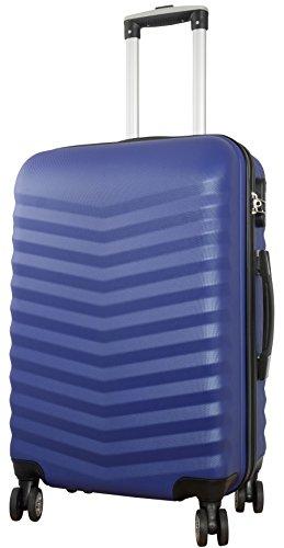 ABS-hardshell kofferset Bora maat L + XL 56 cm + 75 cm, 50 + 81 liter, verschillende kleuren