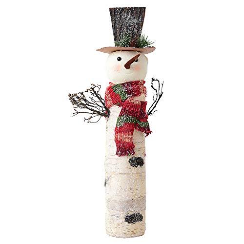 ZXLIFE@ Sneeuwman Kerst Decoratie, Kerst Decoratie, Huisdecoratie Decoratie met Goed Materiaal, Uniek Ontwerp, voor Mantle Stuk, Vensterbank, Tafel