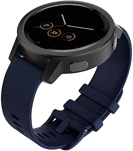 Shieranlee Compatibile per Polar Vantage m,amazfit GTR 47mm,amazfit Pace,AMAZFIT Stratos Cinturino,22mm Silicone Band per Samsung Gear S3 Frontier/S3 Classic Smart Watch