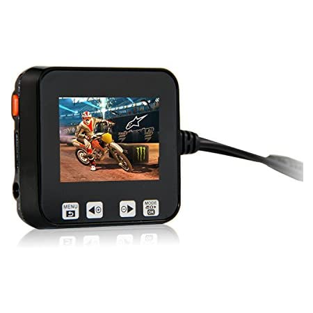 """Biker's Camera, Sykik Rider Sybc6 Motorcycle Action Camera, Sport Camera with DVR. with Front Camera and Back Camera, 2"""" LCD Monitor with Picture in Picture"""