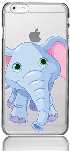 Funda para teléfono móvil Fabelwesen Magic Animal compatible con Samsung Galaxy S7 Baby Elefant Protección Case Bumper Transparente alrededor de protección Dibujos animados M9