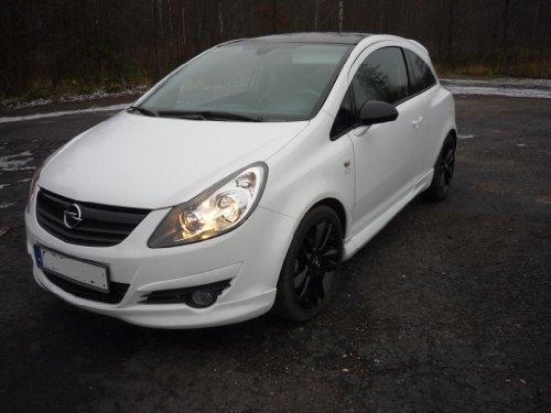 Opel Corsa D Fronspoiler Frontlippe OPC Spoiler