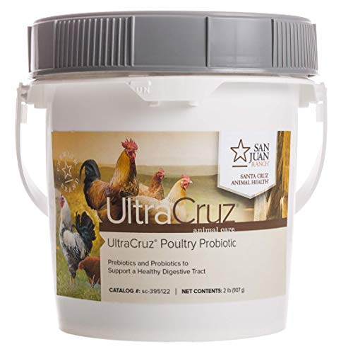 UltraCruz - sc-395122 Poultry Probiotic Supplement, 2 lb, Powder (150 Day Supply)