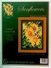 Sunflowers: Counted Cross Stitch