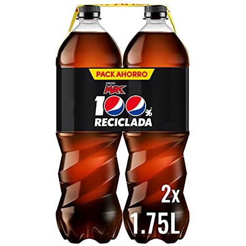 Pepsi MAX 1.75L - Refresco de Cola con Zero Azúcar - Bipack
