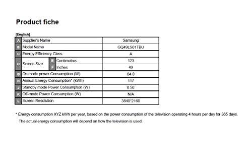 Samsung QLED 4K The Serif 125 cm (50 Zoll) (Ambient Mode, QLED-Technologie, Active Voice Amplifier) [Modelljahr 2020]