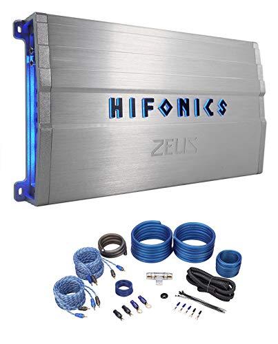 Hifonics ZG-1200.4 Zeus Gamma 1200w 4-Channel Car Amplifier Class A/B+Amp Kit