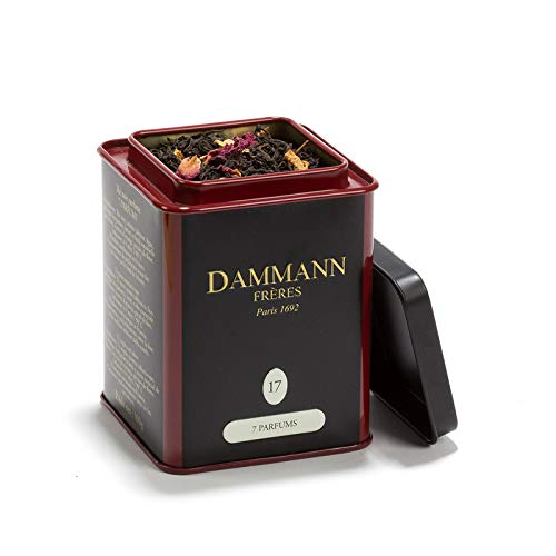 Passerini 1919 Dammann 7 parfums 17 – zwarte thee met citrusvruchten, vijg, lotusbloesem en pythama, 100 g, Dammann Frères