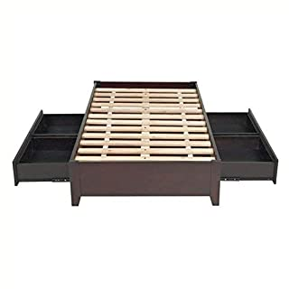 Modus Furniture Simple Platform Storage Bed, Queen, Espresso (B004HVRNT4) | Amazon price tracker / tracking, Amazon price history charts, Amazon price watches, Amazon price drop alerts