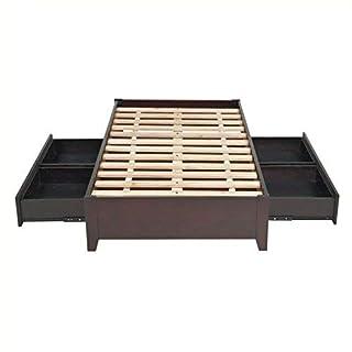 Modus Furniture Simple Platform Storage Bed, Queen, Espresso (B004HVRNT4) | Amazon price tracker / tracking, Amazon price history charts, Amazon price watches, Amazon price drop alerts