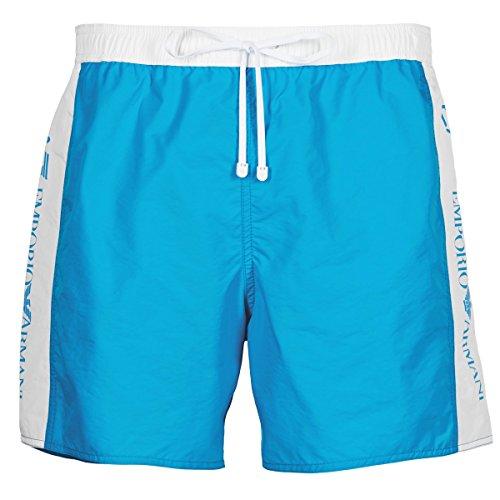 Ea7 Swimwear Seaworld Bi Colour Swimshorts TURQUOISE EXTRA LARGE