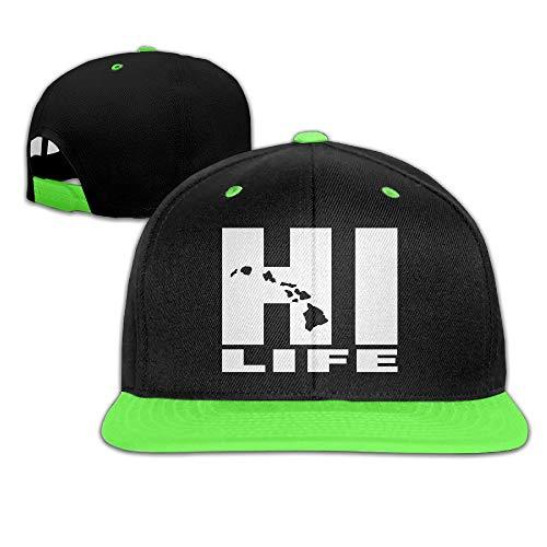 II Child Unisex Cap Women Hawaii Hi Life Adjustable Snap Hat Hüte, Mützen & Caps