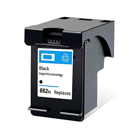 SXCD Cartucho de tinta 662XL, repuesto para impresoras HP Deskjet Ink Advantage 1015, 1515, 2515, 2545, 2645, 3515, 3545, 3545, compatible con negro y tricolor negro