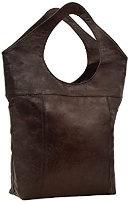 """Gusti Cuir nature """"Maya"""" bagage cabin sac à dos en cuir de chèvre sac à dos voyages sac de voyage style besace cabas en cuir accessoires du quotidien unisexe marron M68"""
