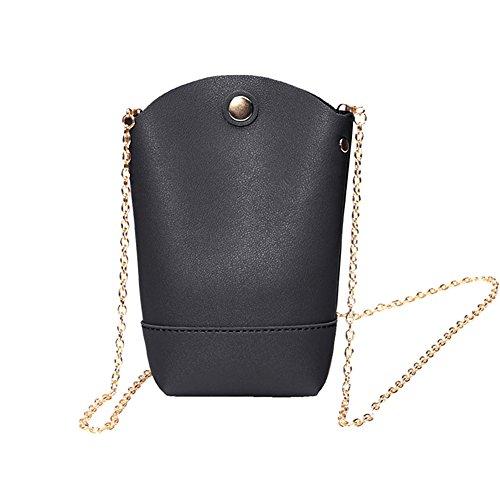 Diamondo Women PU Leather Mini Phone Bag Chain Bag Shoulder Crossbody Bag Shoulder Bag