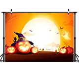 LYWYGG 7x5FT Fondo de Fotografía de Noche de Halloween Niños Fiesta de Halloween Accesorios de...