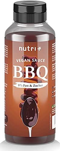 Vegane BBQ-SAUCE ohne Zucker & Fett von nutri
