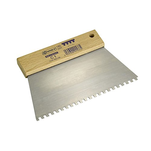 Connex Zahnspachtel 180mm Z. C1 4,0x4,00mm