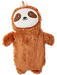 ✔ SLOTH HOT WATER BOTTLE : Keep yourself warm and cosy with our super cute hot water bottle with a Sloth design fluffy cover. It's perfect to be used when you want to warm your bed before sleep and also a great and natural remedy for cold feet, back ...