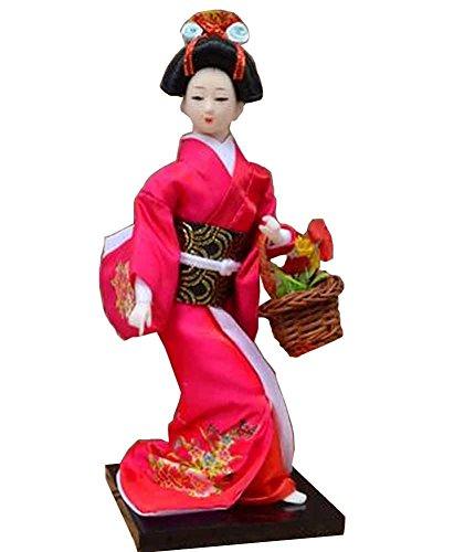 Alien Storehouse Japonais Poupée Décoration Doll Doll Kimono Doll Geisha Doll [C]