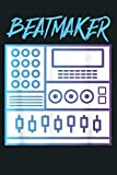 Beatmaker Drum Machine Bass Lover DJ Musician: Notebook Planner - 6x9 inch Daily Planner Journal, To Do List Notebook, Daily Organizer, 114 Pages