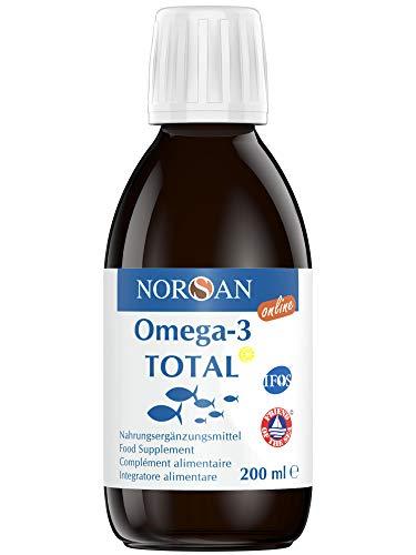 NORSAN Premium Omega 3 Olio di pesce ad alto dosaggio - 2.000mg Omega 3 per dose giornaliera - Oltre 4000 medici raccomandano NORSAN - senza ritorno di gusto
