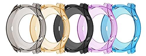 YDL Funda Protectora De TPU para Samsung Galaxy Gear S3 Classic Smart Watch Funda Protectora para Samsung Gear S3 Classic Watch Accesorio (Color : 5 Colors, Size : Only The Protective)