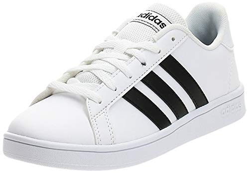 Adidas Grand Court K, Zapatos de Tenis, FTWR White/Core Black/FTWR White, 38 EU