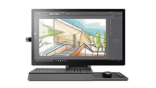 Lenovo Yoga A940 AIO 68,58 cm (27 Zoll, 3840x2160, UHD, WideView, Touch) All-in-One Desktop-PC (Intel Core i7-9700, 32GB RAM, 2TB HDD + 1TB SSD, AMD Radeon RX560, Windows 10 Pro) grau