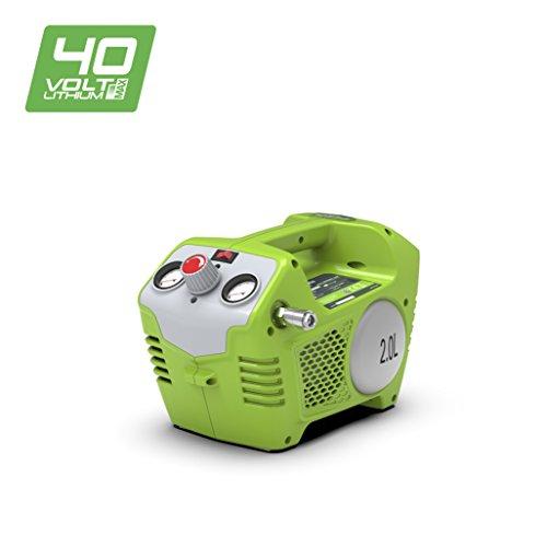 Greenworks Tools 40V Akku-Kompressor 2L, 8bar (ohne Akku und Ladegerät) - 4100802
