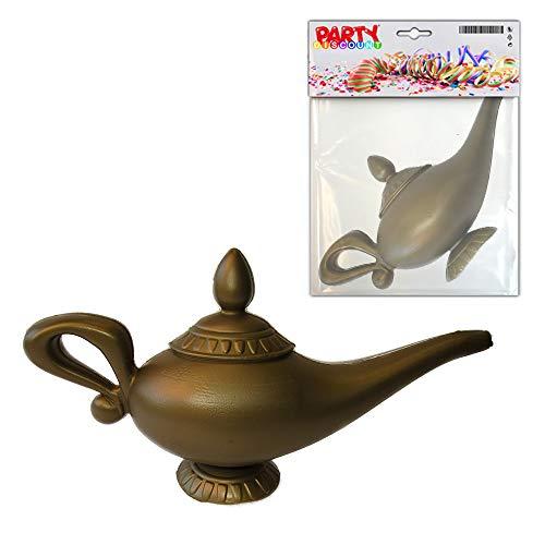 PARTY DISCOUNT KES Aladins Wunderlampe, Kunsstoff, ca. 23cm