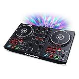 Numark Party Mix II - Controladora DJ, mesa de mezclas con luces integradas y mezclador DJ para...
