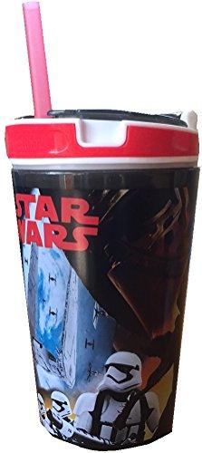 Star Wars 7 Snackeez Jr. - Storm Trooper (Black Cup w/ Red Rim)