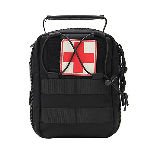 Kit de primeros auxilios portátil - Bolsa de primeros auxilios de gran capacidad Kit médico portátil, bolsas Paquete de supervivencia de emergencia para acampar al aire libre