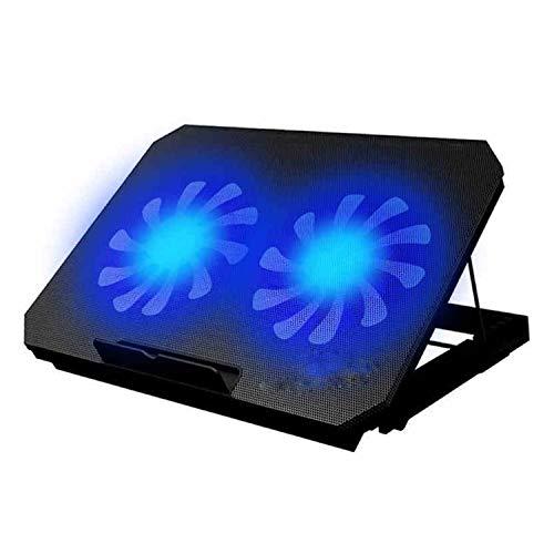 Fans personales de Alta Velocidad Laptop Cooler Cooling Fan Adecuado for computadoras portátiles de hasta 17 Pulgadas Mini, portátil (Color : 01)