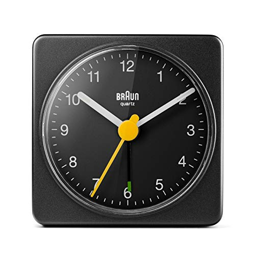 Braun BC02B Travel Alarm Clock Black