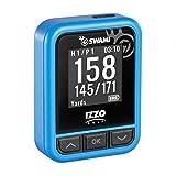 Izzo Swami Kiss Golf GPS Rangefinder - Handheld Golf GPS rangefinder, Distance Measurement Device - Blue